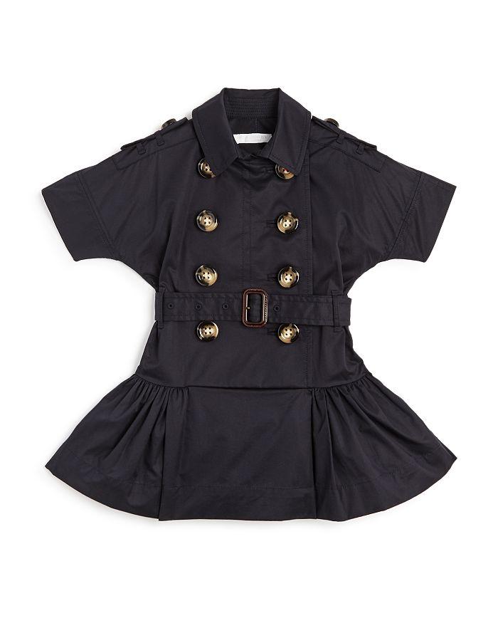 Burberry - Girls' Cynthia Modern Trench Dress - Little Kid, Big Kid