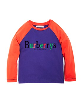 Burberry - Boys' Callum Raglan Tee - Little Kid, Big Kid