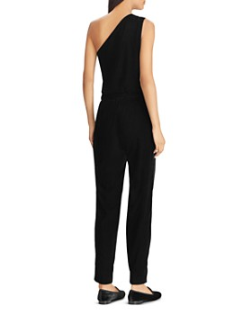 Ralph Lauren - Velvet One-Shoulder Jumpsuit