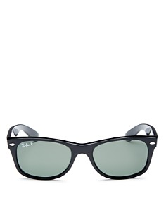 Ray-Ban - Men's Polarized New Wayfarer Sunglasses, 52mm