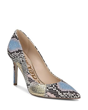 b90ef90829d3 Sam Edelman - Women s Hazel Pointed Toe High-Heel Pumps ...