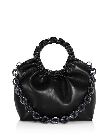 AQUA - Ruffled Circle Handle Bag - 100% Exclusive