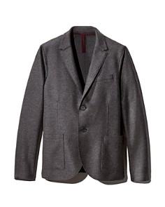 HARRIS WHARF - Compact-Wool Regular Fit Blazer