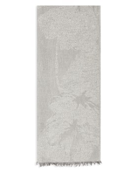 REISS - Lily Floral Jacquard Scarf