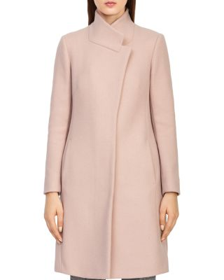 Mabel Longline Coat by Reiss