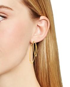 Gorjana - Waverly Profile Hoop Earrings