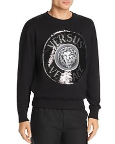 Versus Versace - Sequin Logo Crewneck Sweatshirt