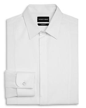 Emporio Armani - Bib-Front Slim Fit Tuxedo Shirt