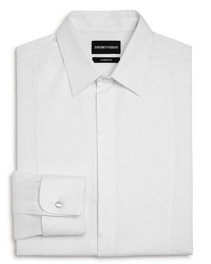 Armani - Bib-Front Slim Fit Tuxedo Shirt