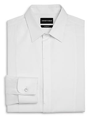 Emporio Armani Bib-Front Slim Fit Tuxedo Shirt