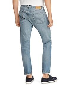 Polo Ralph Lauren - Hi Tech Varick Straight Slim Jeans in Blue - 100% Exclusive