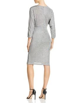 Adrianna Papell - Metallic Knit Dress