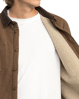 RVCA - Victory Sherpa-Lined Shirt Jacket