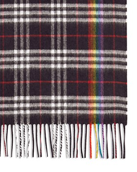 ac5c142bbcb Burberry - Rainbow Plaid Cashmere Scarf Burberry - Rainbow Plaid Cashmere  Scarf