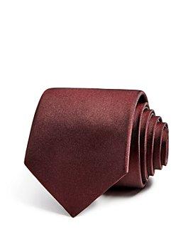Theory - Roadster Classic Matte-Silk Skinny Tie