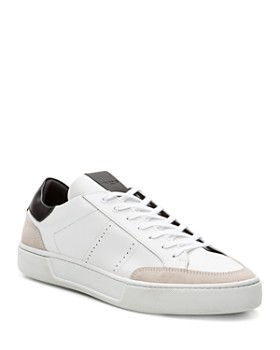 The Kooples -  Leather & Suede Lace-Up Sneakers
