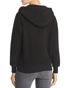 Marc New York - Teddy Fleece Hooded Zip Jacket
