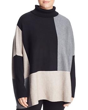 Joseph A Plus - Turtleneck Color-Block Sweater
