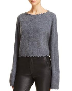 9c1ce4c21 alexanderwang.t - Brushed Ribbed Sweater ...