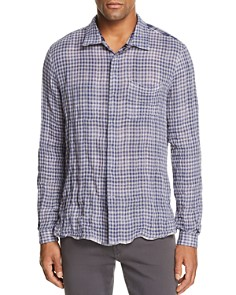 John Varvatos Star USA - Plaid Reversible Regular Fit Shirt