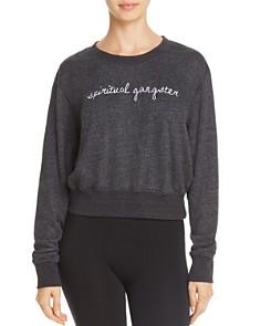 Spiritual Gangster - Logo Cropped Sweatshirt - 100% Exclusive
