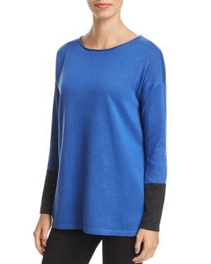Eileen Fisher Color Block Sweater