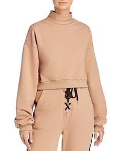 Tiger Mist - Lovely Cropped Sweatshirt