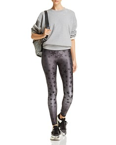 Terez - Steel Star Print Leggings