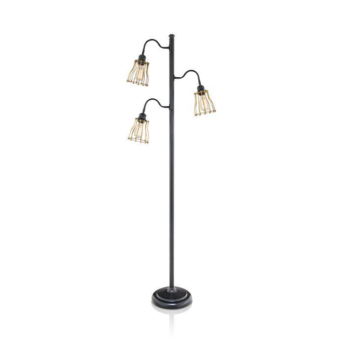 Jalexander Boston 3 Shade Floor Lamp