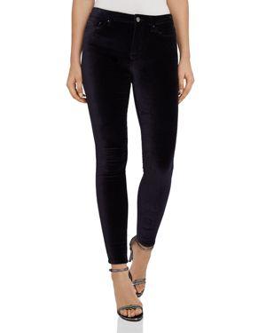 Reiss Lux Skinny Velvet Jeans in Ink 3047972