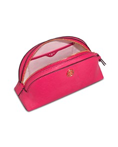 Tory Burch - Robinson Small Saffiano Leather Makeup Pouch