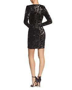 Dress the Population - Riley Sequined Velvet Dress