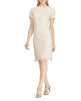 Ralph Lauren - Floral Lace Dress