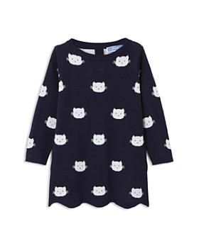43750d992a9 Jacadi - Girls  Cat Motif Knit Dress - Baby ...