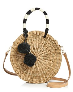 KAYU - Isabel Pom Pom Circle Bag