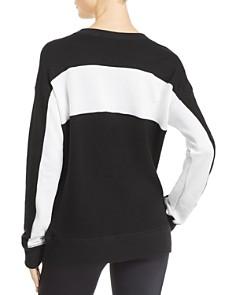 n PHILANTHROPY - Color-Block Zip Sweatshirt