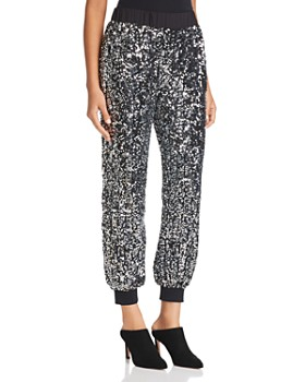 Le Gali - Dian Sequined Jogger Pants - 100% Exclusive