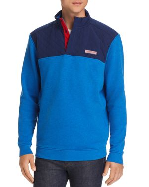 Vineyard Vines Mixed-Media Pullover Sweatshirt