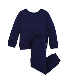 Splendid - Boys' Terry Color-Block Sweatshirt & Jogger Pants Set - Little Kid