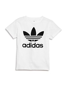 Adidas - Girls' Trefoil Tee - Big Kid
