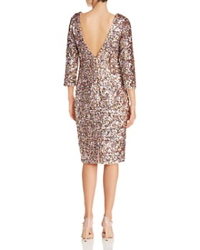 Adrianna Papell - Sequined Cocktail Dress