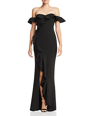 Likely  MILLER OFF-THE-SHOULDER GOWN
