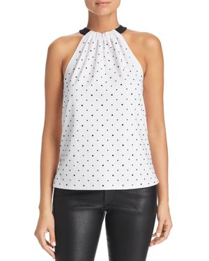 LE GALI Sahar Sleeveless Studded Top - 100% Exclusive in White