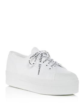 02193bae20 Superga - Women s Cotu Classic Low-Top Platform Sneakers ...