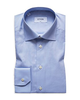 Eton - Slim Fit Signature Twill Dress Shirt