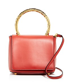 Marni - Pannier Flap Small Leather Should Bag