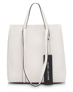 f15bd29134e1 MARC JACOBS Tag Large Leather Tote 31