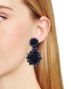 Sachin and Babi - Regal Silk Georgette Clip-On Earrings