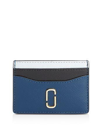 MARC JACOBS - Color-Block Leather Card Case