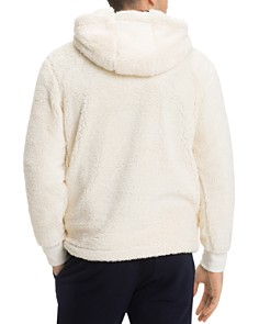 Tommy Hilfiger - Oversized Hooded Sherpa Sweatshirt